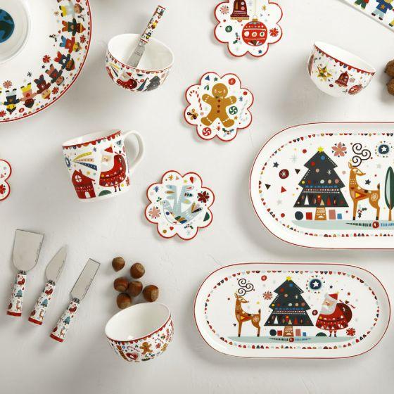 Vaisselle collection « Festive Friends »