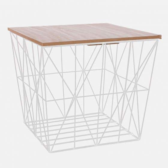 Yula Accent Table with Storage