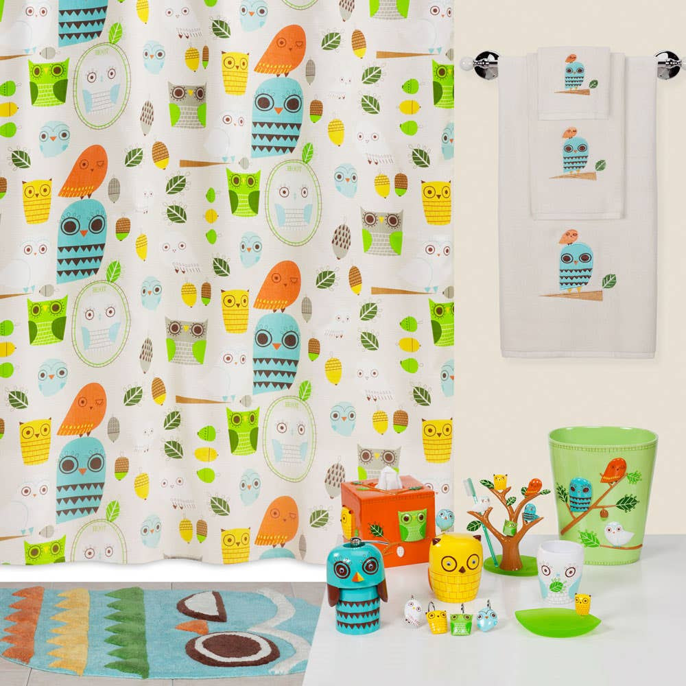Owl shower curtains -  Owl Kitchen Curtains By Green Curtains At Linen Chest
