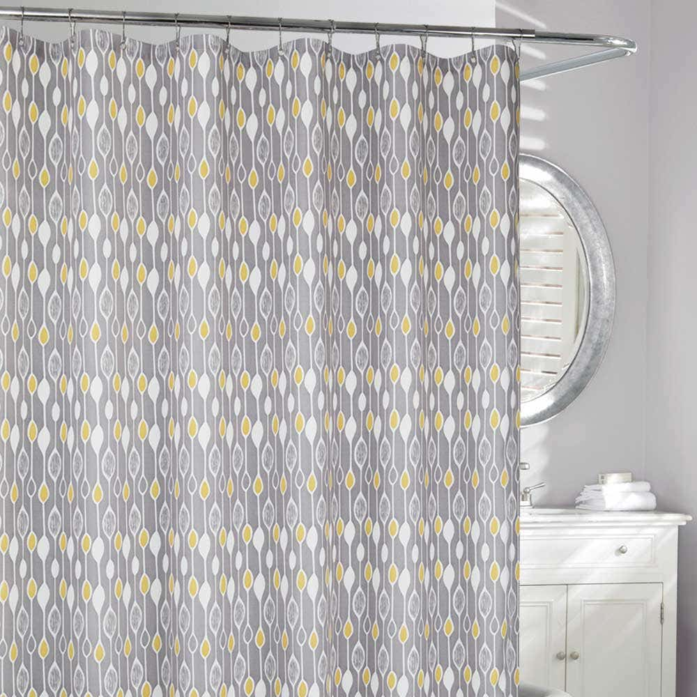Grey Shower Curtain at Linen Chest