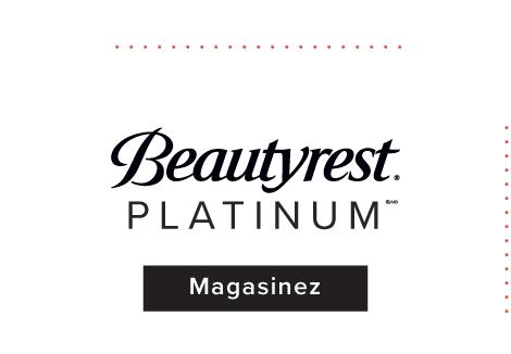 Matelas Simmons Beautyrest Platinum